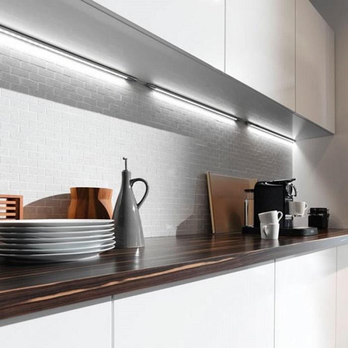 Tủ Bếp Đẹp Bằng Gỗ Công Nghiệp - Hình 05