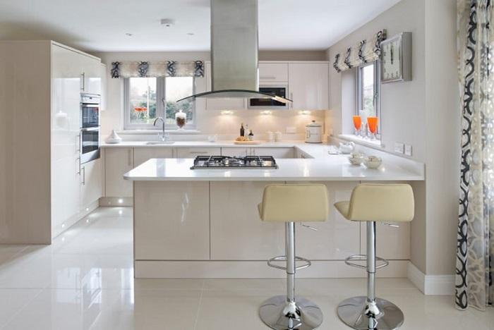 Tủ Bếp Đẹp Bằng Gỗ Công Nghiệp - Hình 06