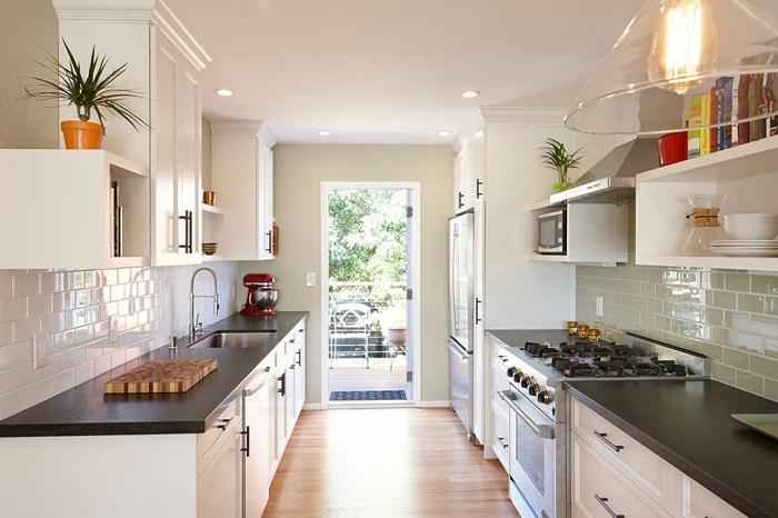 Tủ Bếp Đẹp Bằng Gỗ Công Nghiệp - Hình 07