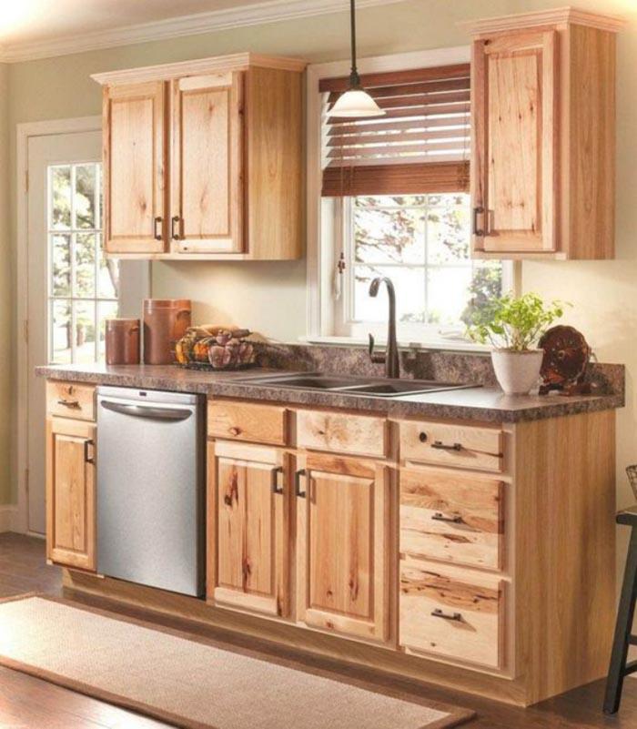Mẫu Tủ Bếp Gỗ Công Nghiệp Giá Rẻ - Hình 01