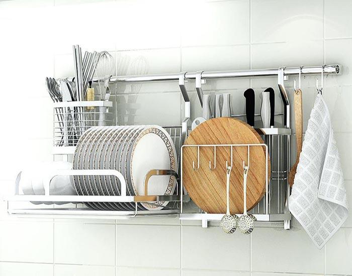 Mẫu Tủ Bếp Gỗ Công Nghiệp Giá Rẻ - Hình 02