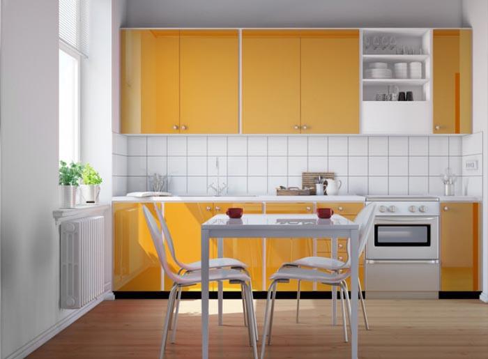 Mẫu Tủ Bếp Gỗ Công Nghiệp Giá Rẻ - Hình 03
