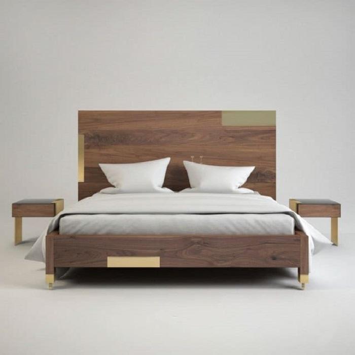 Mẫu Giường Ngủ Đẹp Giá Rẻ - Hình 21