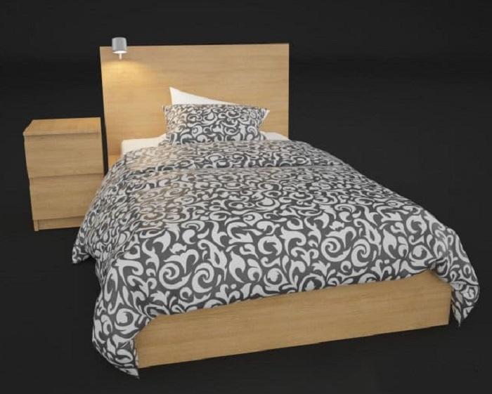 Mẫu Giường Ngủ Đẹp Giá Rẻ - Hình 22