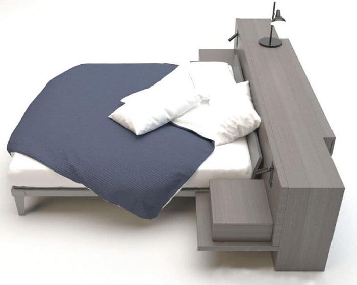 Mẫu Giường Ngủ Đẹp Giá Rẻ - Hình 27