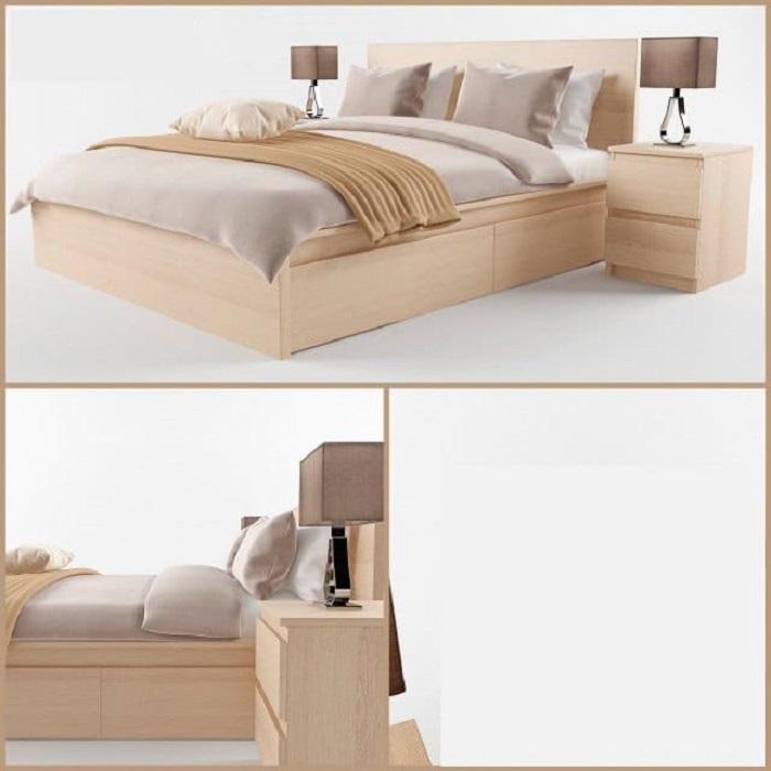 Mẫu Giường Ngủ Đẹp Giá Rẻ - Hình 28