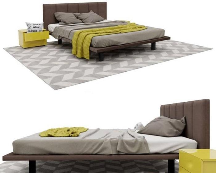 Mẫu Giường Ngủ Đẹp Giá Rẻ - Hình 29