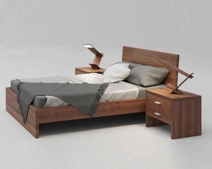 Mẫu Giường Ngủ Đẹp Giá Rẻ - Hình 08