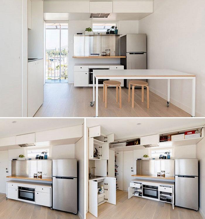 Thiết kế thi công nội thất căn hộ 50m2 - Hình 07