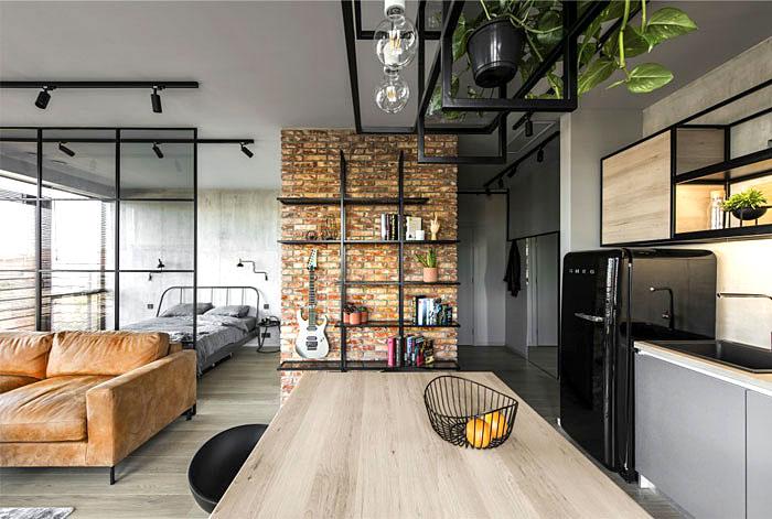 Thiết kế thi công nội thất căn hộ 50m2 - Hình 08