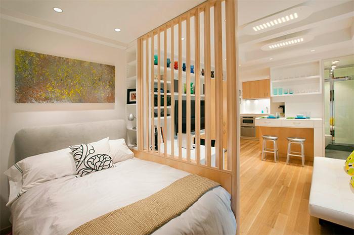 Thiết kế thi công nội thất căn hộ 50m2 - Hình 09