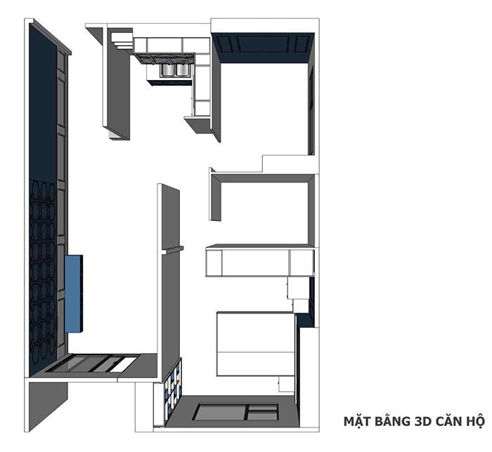 thiết kế nội thất căn hộ sunrise cityview q7 - 09