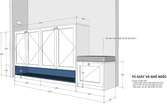 thiết kế nội thất căn hộ sunrise cityview q7 - 12