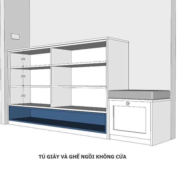 thiết kế nội thất căn hộ sunrise cityview q7 - 13