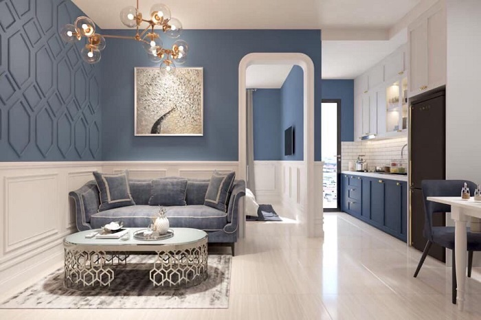 thiết kế nội thất căn hộ sunrise cityview q7 - 02