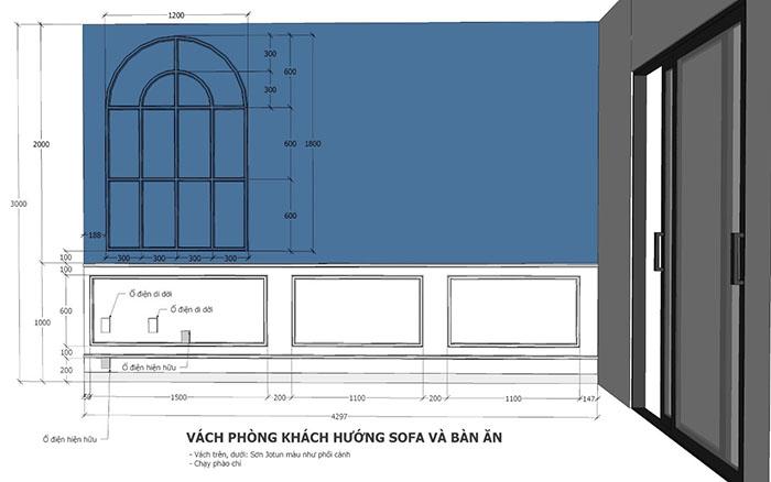 thiết kế nội thất căn hộ sunrise cityview q7 - 16