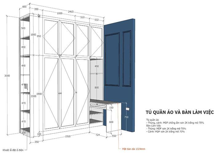thiết kế nội thất căn hộ sunrise cityview q7 - 17