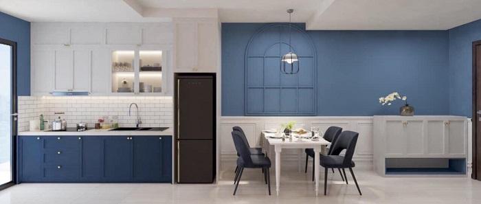 thiết kế nội thất căn hộ sunrise cityview q7 - 06