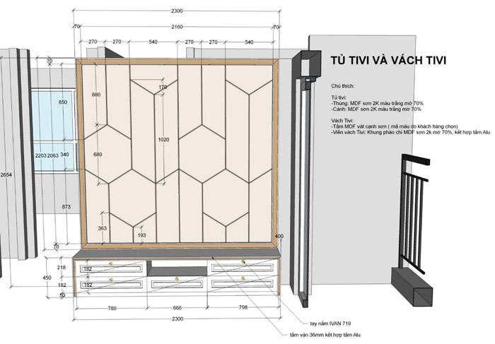 thiết kế thi công nội thất căn hộ saigon mia - hinh 10
