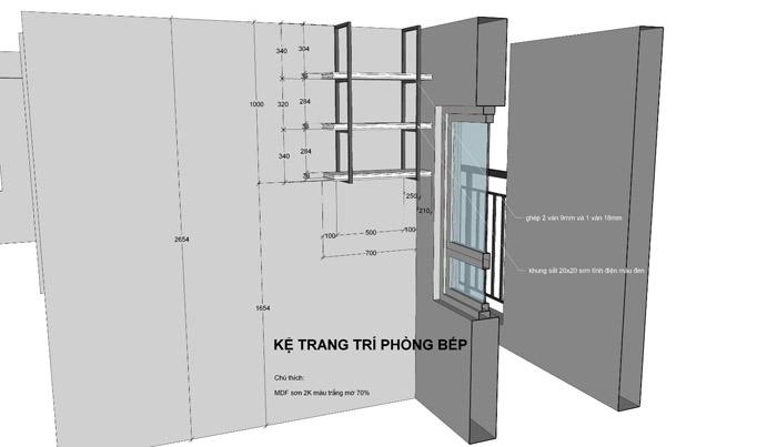 thiết kế thi công nội thất căn hộ saigon mia - hinh 13