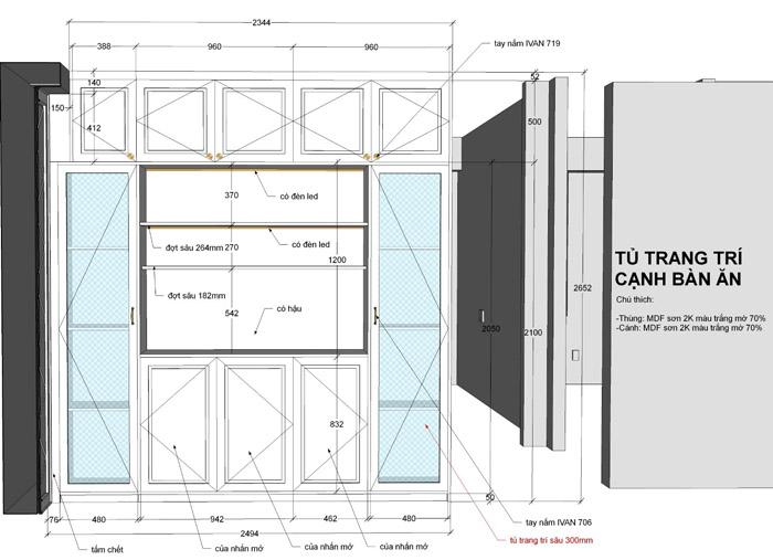 thiết kế thi công nội thất căn hộ saigon mia - hinh 15