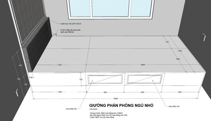 thiết kế thi công nội thất căn hộ saigon mia - hinh 16