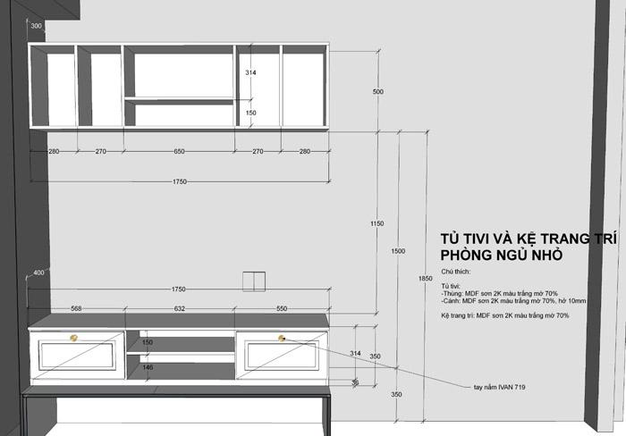 thiết kế thi công nội thất căn hộ saigon mia - hinh 20