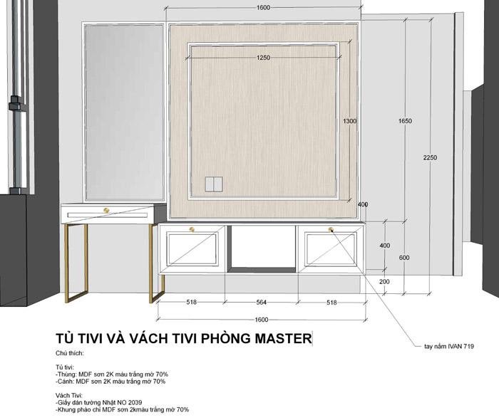thiết kế thi công nội thất căn hộ saigon mia - hinh 21