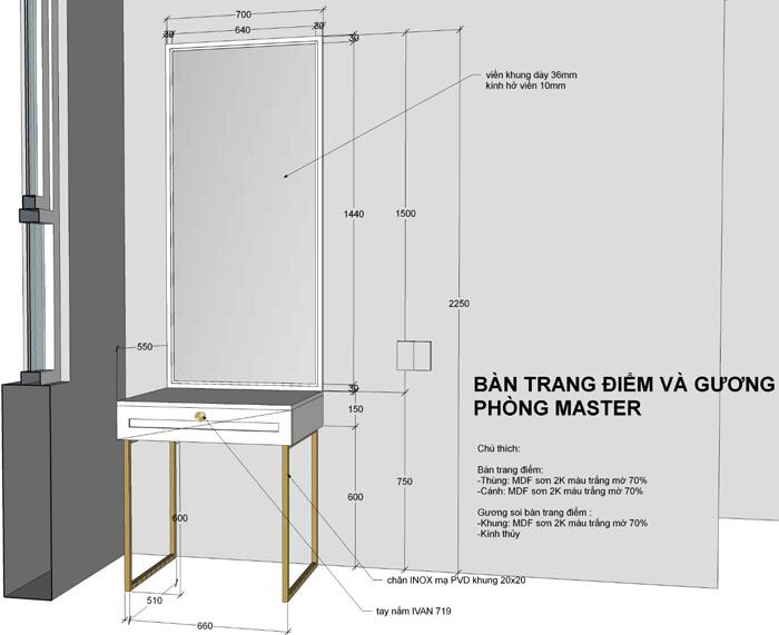 thiết kế thi công nội thất căn hộ saigon mia - hinh 23