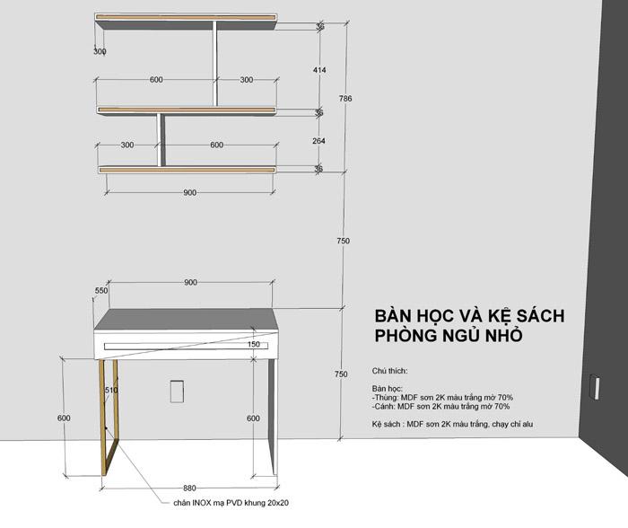 thiết kế thi công nội thất căn hộ saigon mia - hinh 24