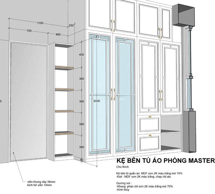 thiết kế thi công nội thất căn hộ saigon mia - hinh 26