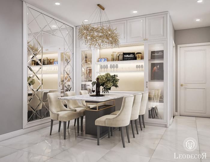 thiết kế thi công nội thất căn hộ saigon mia - hinh 03
