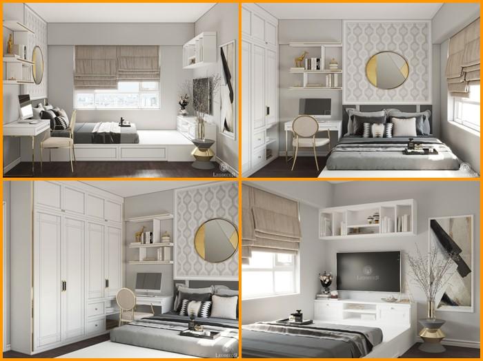 thiết kế thi công nội thất căn hộ saigon mia - hinh 04