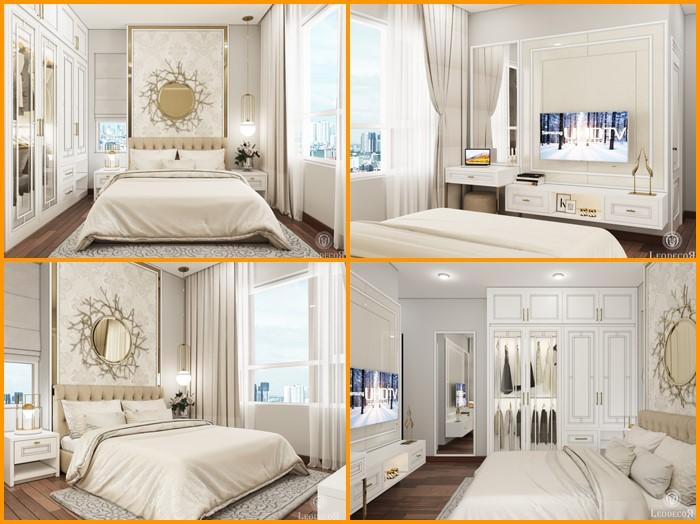 thiết kế thi công nội thất căn hộ saigon mia - hinh 05
