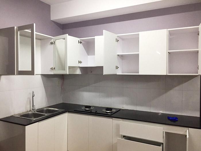 Thi công nội thất nhà bếp căn hộ Sơn Kỳ Q.Tân Phú - Hình 11