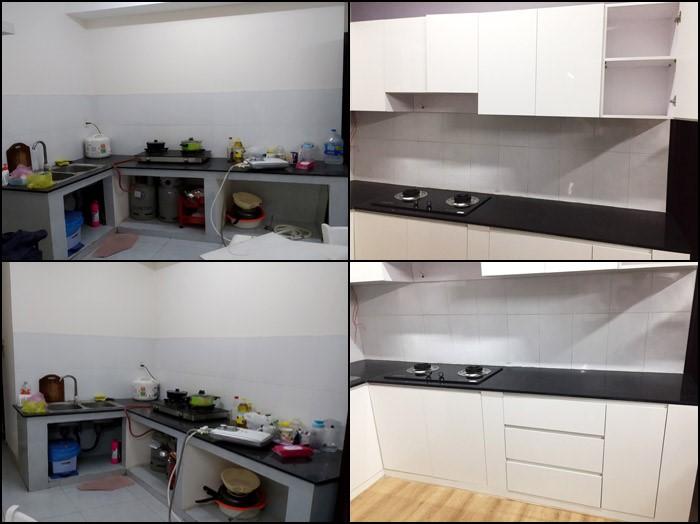 Thi công nội thất nhà bếp căn hộ Sơn Kỳ Q.Tân Phú - Hình 17