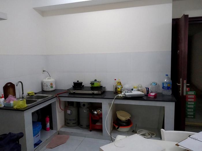 Thi công nội thất nhà bếp căn hộ Sơn Kỳ Q.Tân Phú - Hình 03