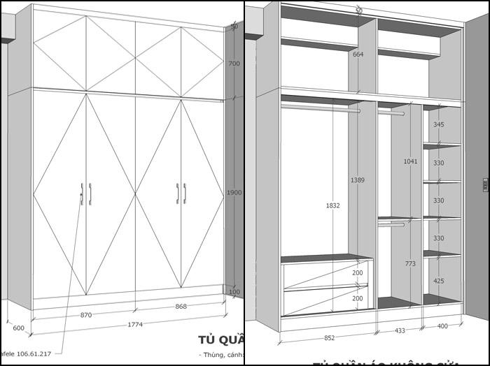 thiết kế nội thất căn hộ botanica premier - hinh 07