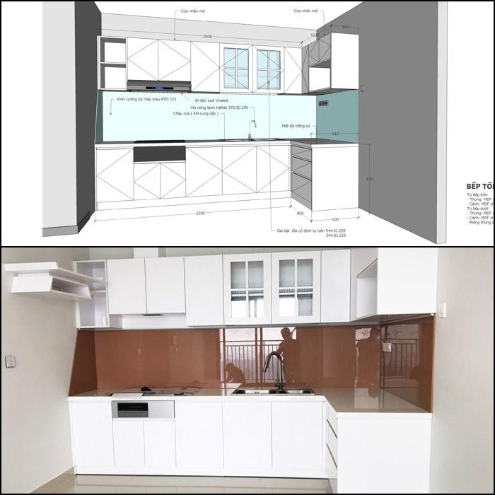 thiết kế nội thất căn hộ botanica premier - hinh 20