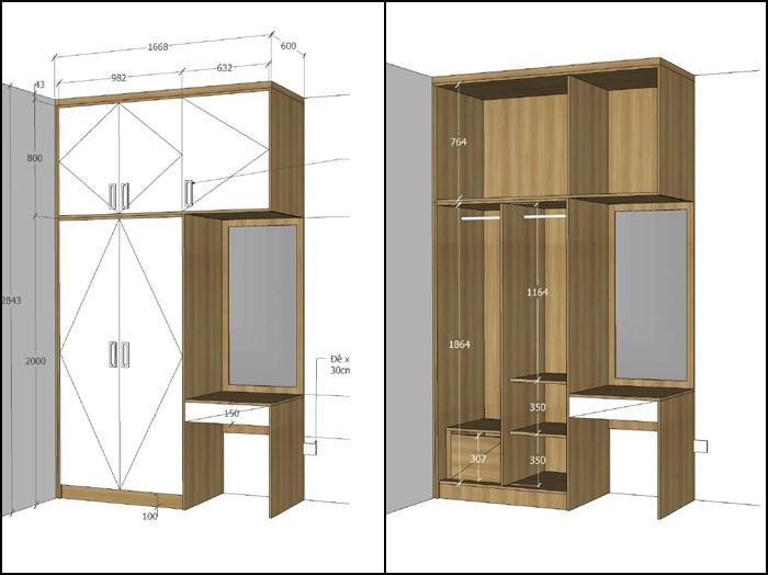 thiết kế nội thất căn hộ mỹ phúc quận 8 - 05