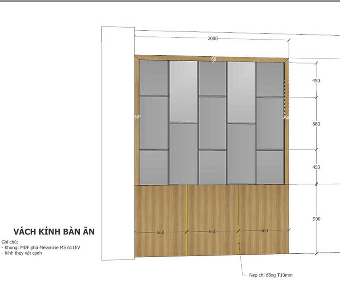 thiết kế nội thất căn hộ mỹ phúc quận 8 - 06