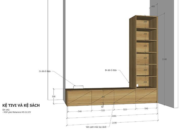 thiết kế nội thất căn hộ mỹ phúc quận 8 - 07