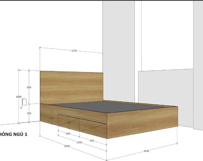 thiết kế nội thất căn hộ mỹ phúc quận 8 - 08