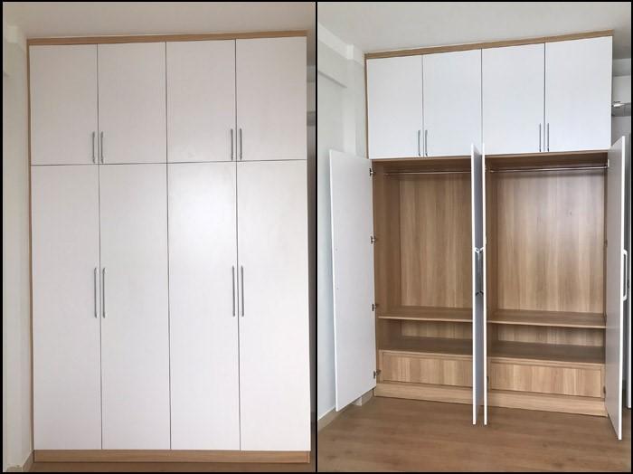 thiết kế nội thất căn hộ mỹ phúc quận 8 - 10