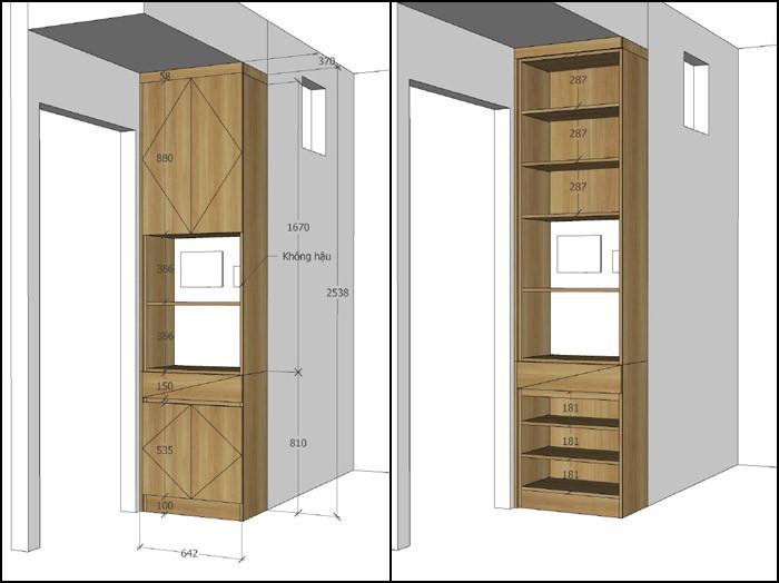 thiết kế nội thất căn hộ mỹ phúc quận 8 - 04