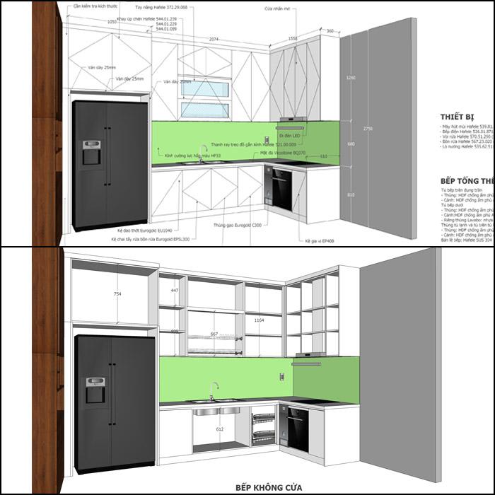 Thiết kế nội thất căn hộ Him Lam Riverside - Hinh 06