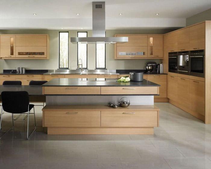 tủ bếp đơn giản mà đẹp - mẫu 09