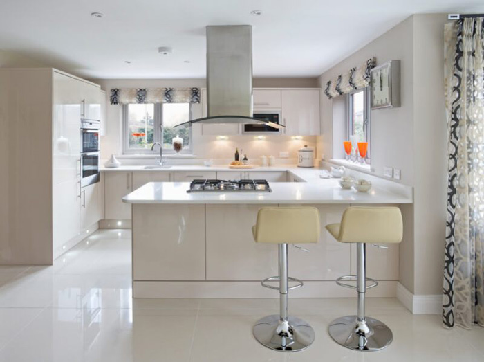 tủ bếp đơn giản mà đẹp - mẫu 11