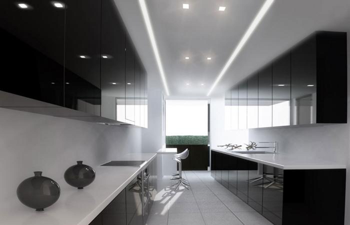 tủ bếp đơn giản mà đẹp - mẫu 15