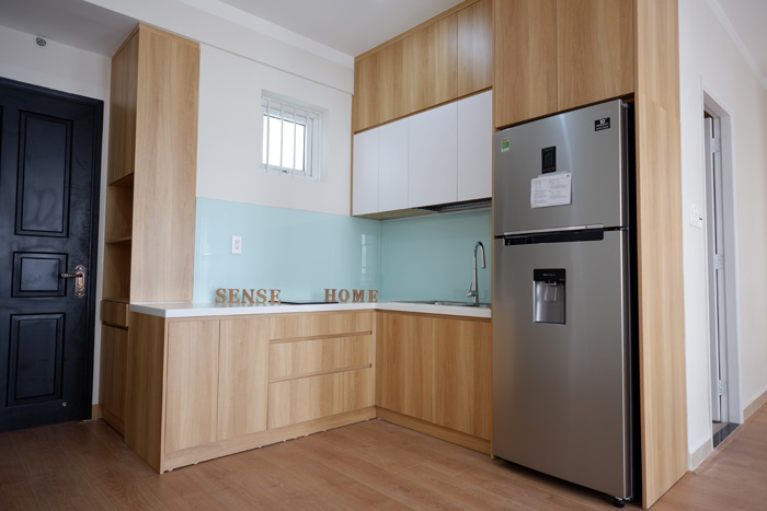 tủ bếp đơn giản mà đẹp - mẫu 06